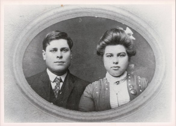 PERKINS Oatis Nelty RUBY Laura Mae wedding Nov 29 1903