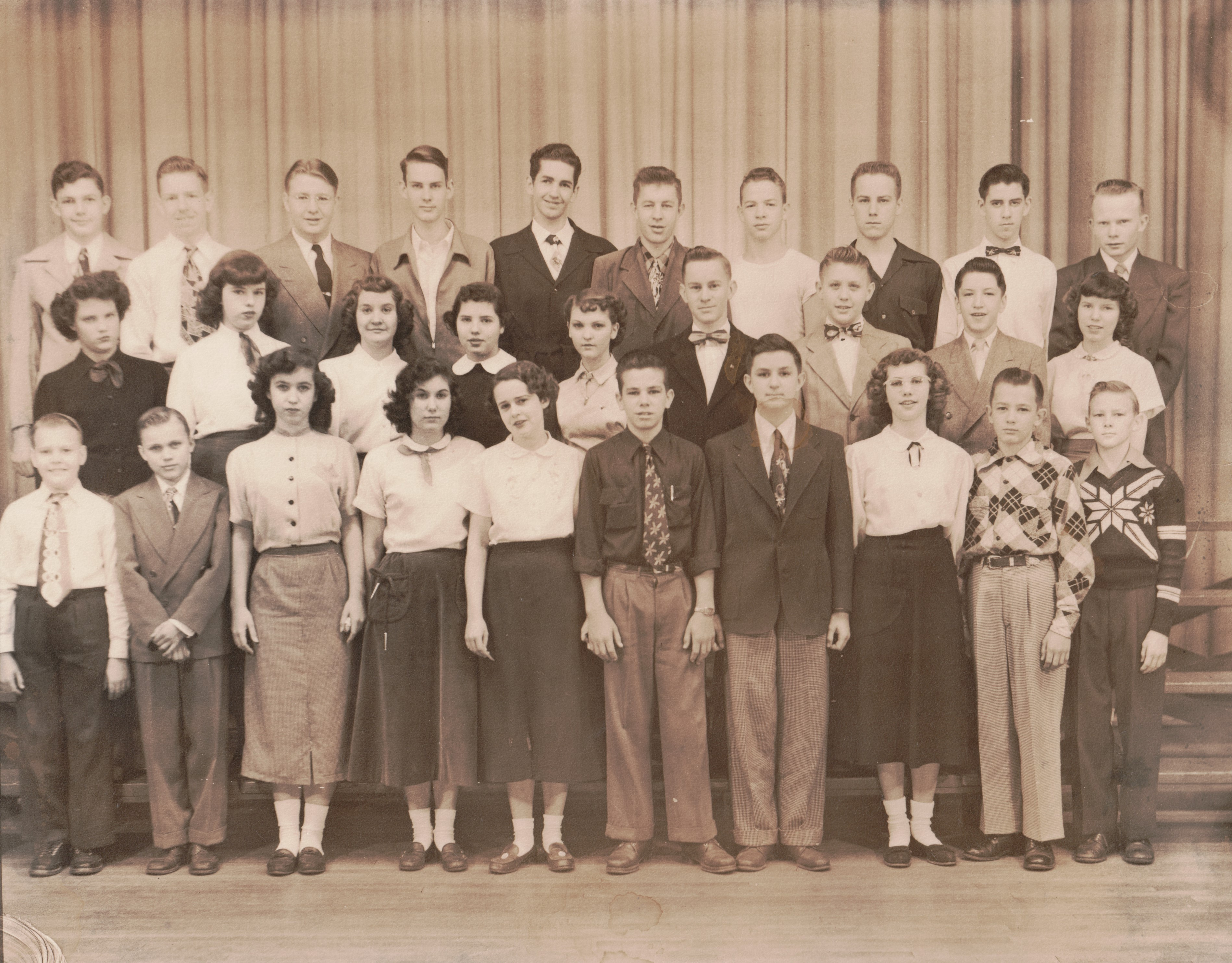 East High School Freshmen 1952