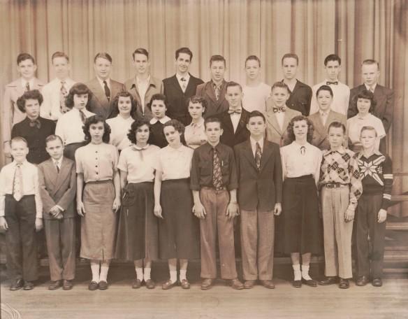 East High School Freshmen 1952